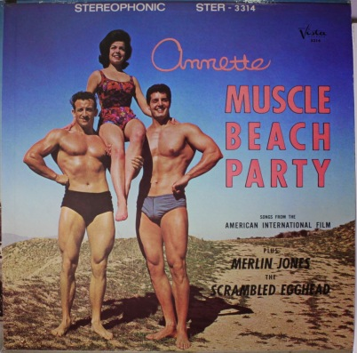 MUSCLE BEACH PARTY (1964) Annette