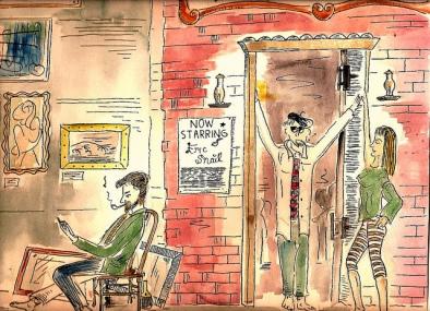 Beatniks-in-coffee-house-1959-Robert-Huffstutter